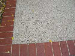 Concrete Aggregate with edging